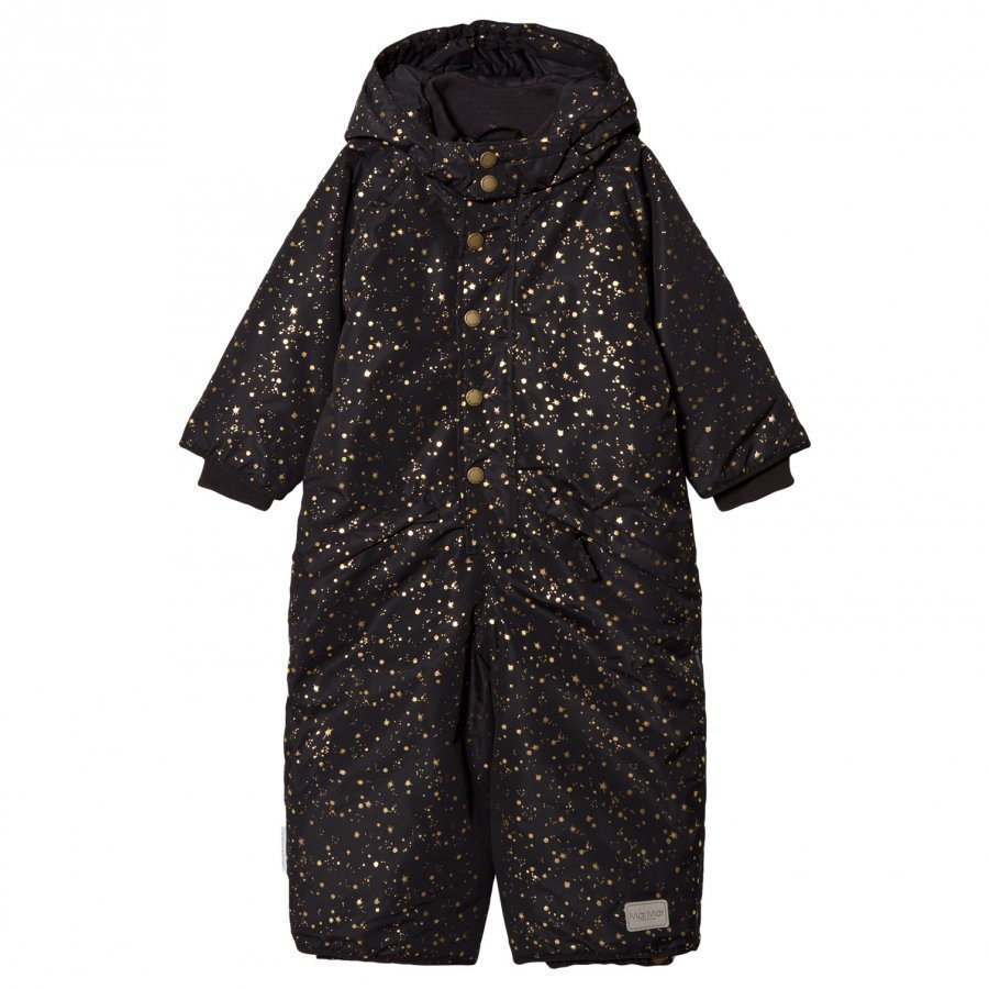 Marmar Copenhagen Ollie Snow Suit Black Star Flake Toppahaalari