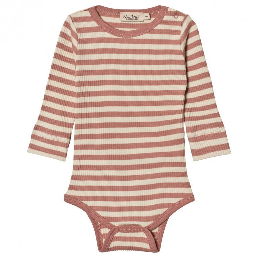 Marmar Copenhagen Plain Baby Body Antique Rose Stripe Body
