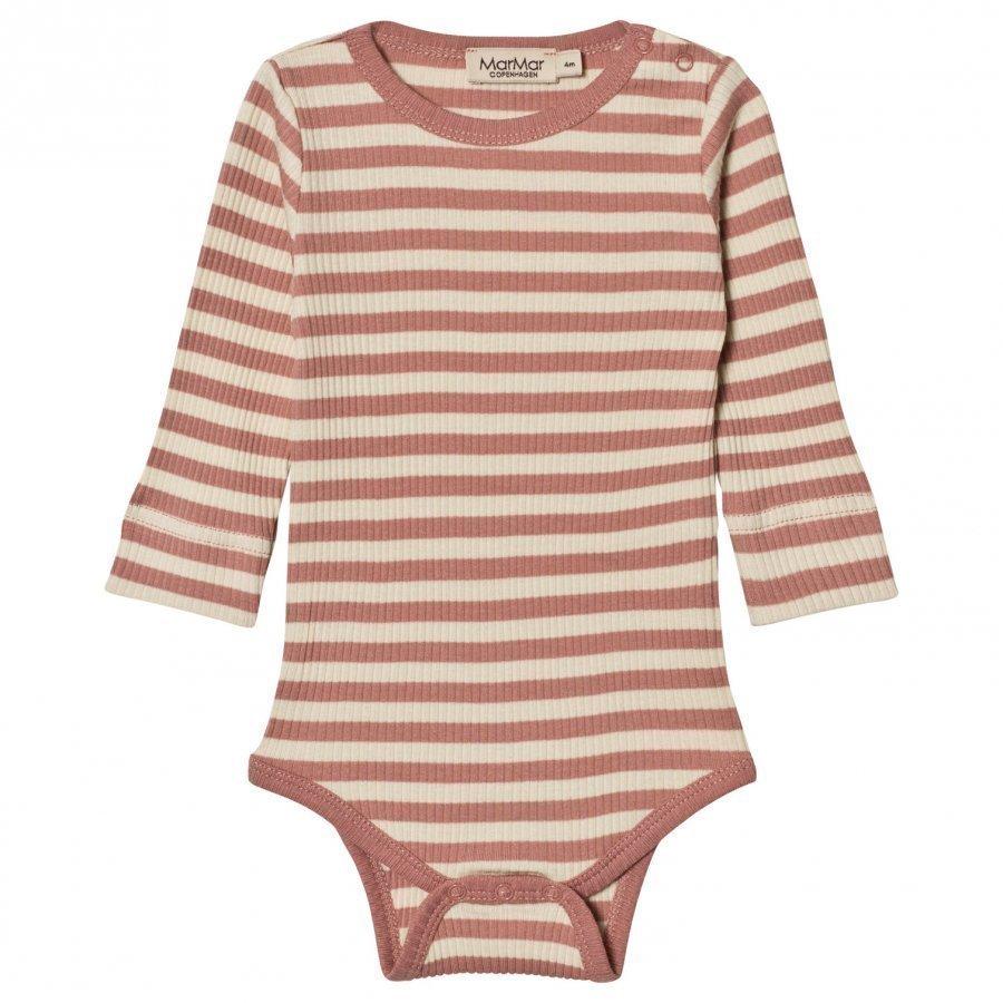 Marmar Copenhagen Plain Baby Body Antique Rose Stripe Body