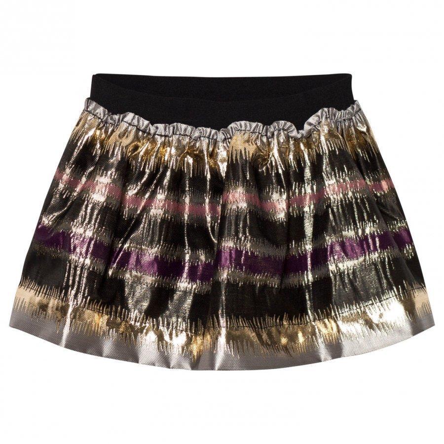 Marmar Copenhagen Sabrine Skirt Antique Rose Zigzag Midihame