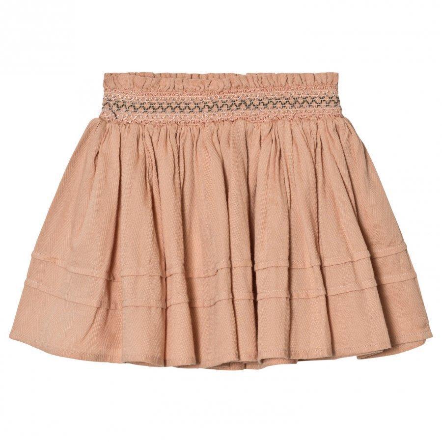 Marmar Copenhagen Silla Skirt Dusty Rose Midihame