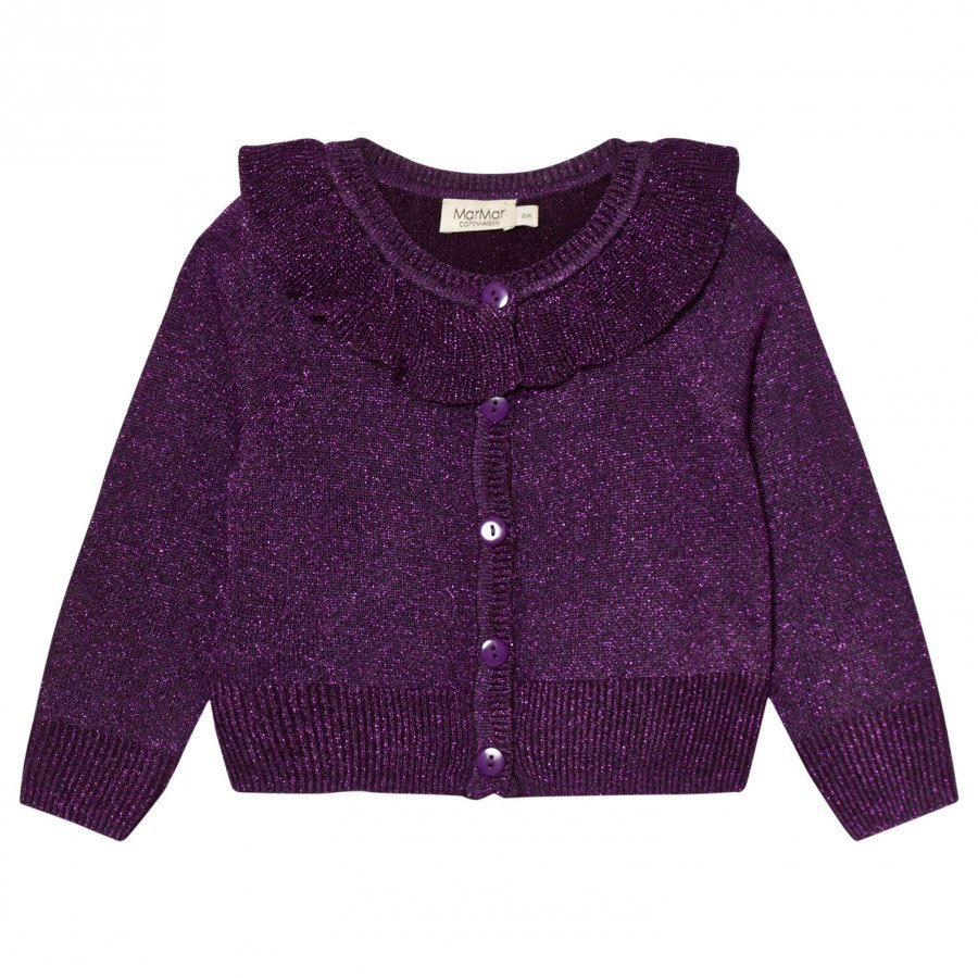 Marmar Copenhagen Tilda Cardigan Purple Night Neuletakki