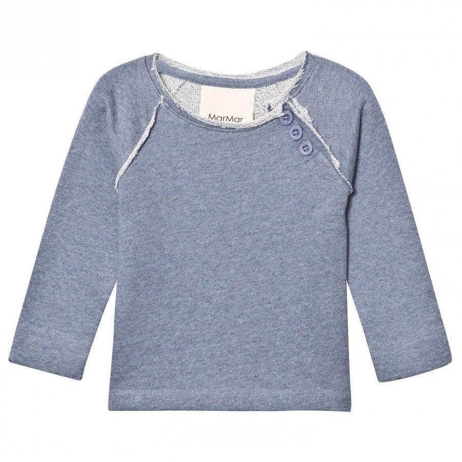 Marmar Copenhagen Titus Sweater Blue Melange Oloasun Paita