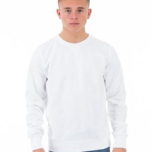 Marqy Classic College Shirt Neule Valkoinen