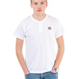 Marqy Classic Lisburn Ss Grandpa T-Paita Valkoinen