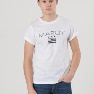 Marqy Ontario Ss Tee T-Paita Valkoinen
