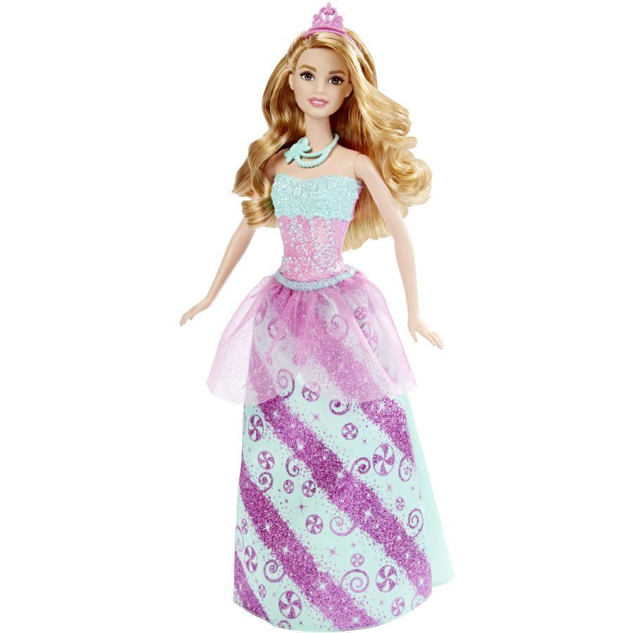 Mattel Barbie Endless Hair Kingdom Karamelliprinsessa