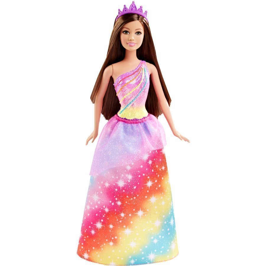Mattel Barbie Endless Hair Kingdom Sateenkaariprinsessa