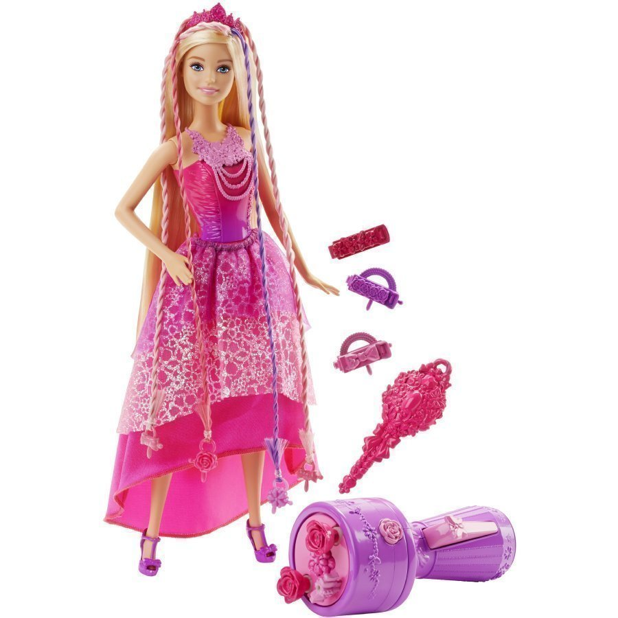 Mattel Barbie Endless Hair Kingdom Snap'n Style Princess