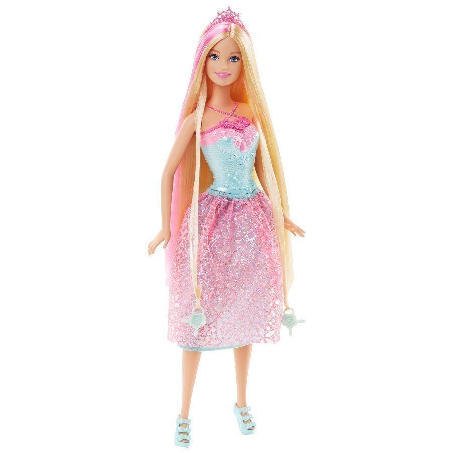 Mattel Barbie Endless Hair Princess Pinkki