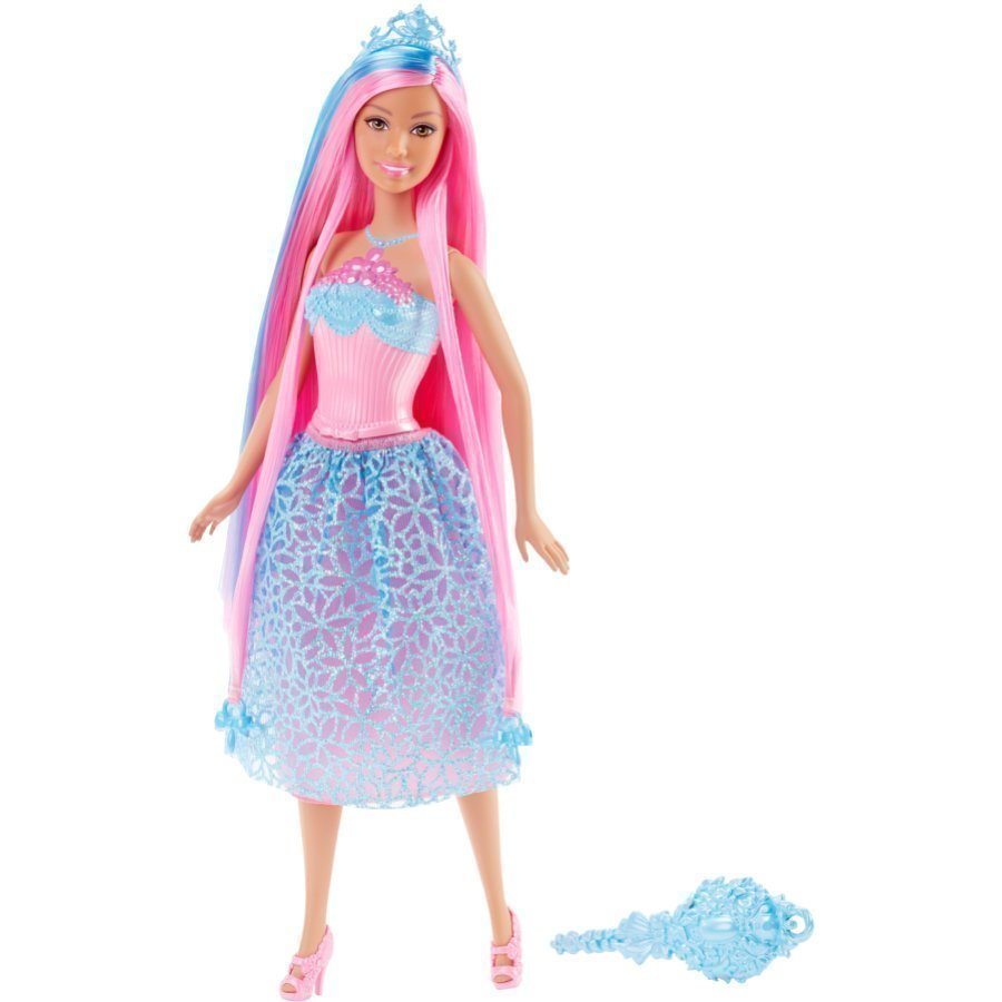 Mattel Barbie Endless Hair Princess Sininen