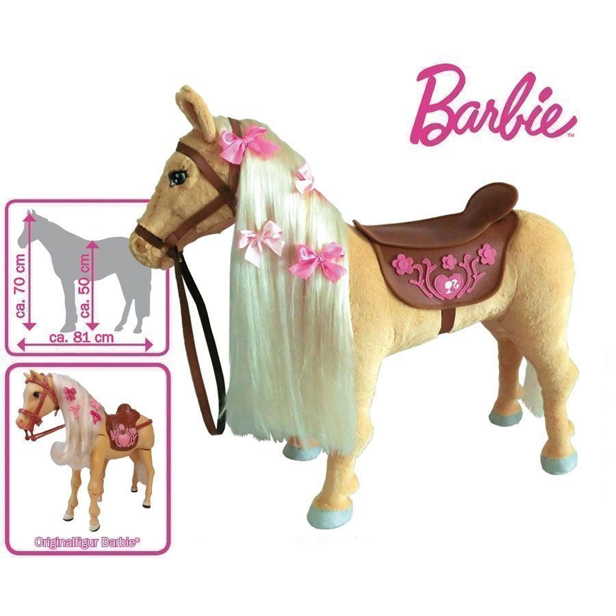 Mattel Barbie Hevonen Tawny