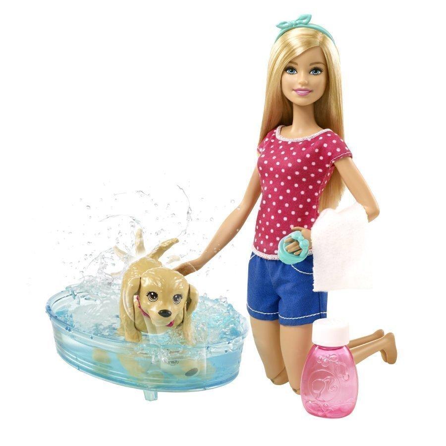 Mattel Barbie My Fab Pets Koirakylpy