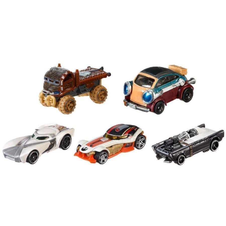 Mattel Hot Wheels Star Wars Heroes Of The Resistance 5 Pack