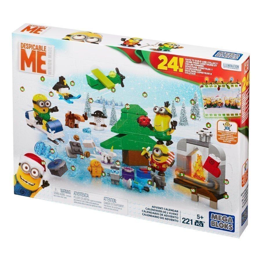 Mattel Mega Bloks Joulukalenteri Minions 2016