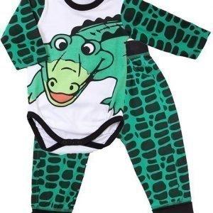 Max Collection Body ja housut Krokotiili
