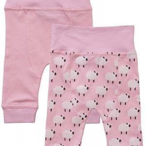 Max Collection Housut 2 paria Light Pink