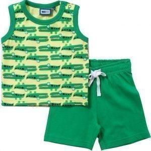 Max Collection Paita ja shortsit Bright green/yellow