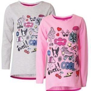 Max Collection Pusero 2 kpl Pink/White