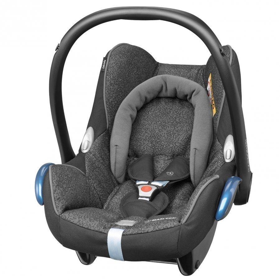 Maxi-Cosi Cabriofix Car Seat + Easyfix Base Triangle Black Turvakaukalo 0-13 Kg