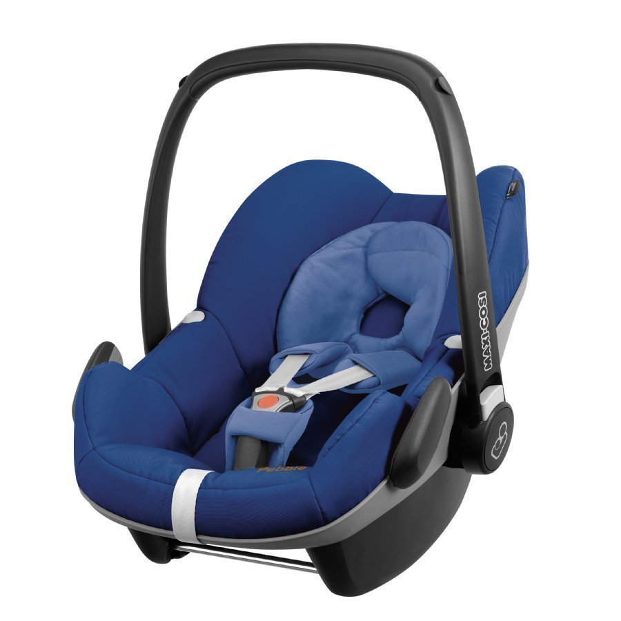 Maxi Cosi Pebble Blue Base Q Design Turvakaukalo