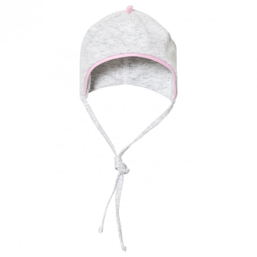 Maximo Baby Hat Grey Pink Aurinkohattu