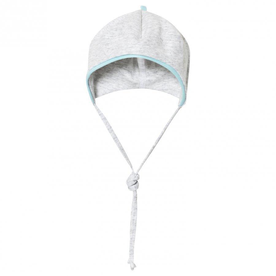 Maximo Baby Hat Grey Turquoise Aurinkohattu