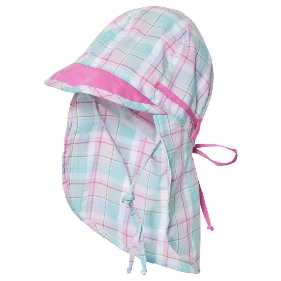 Maximo Sun Hat Neck Flap Pink Aurinkohattu