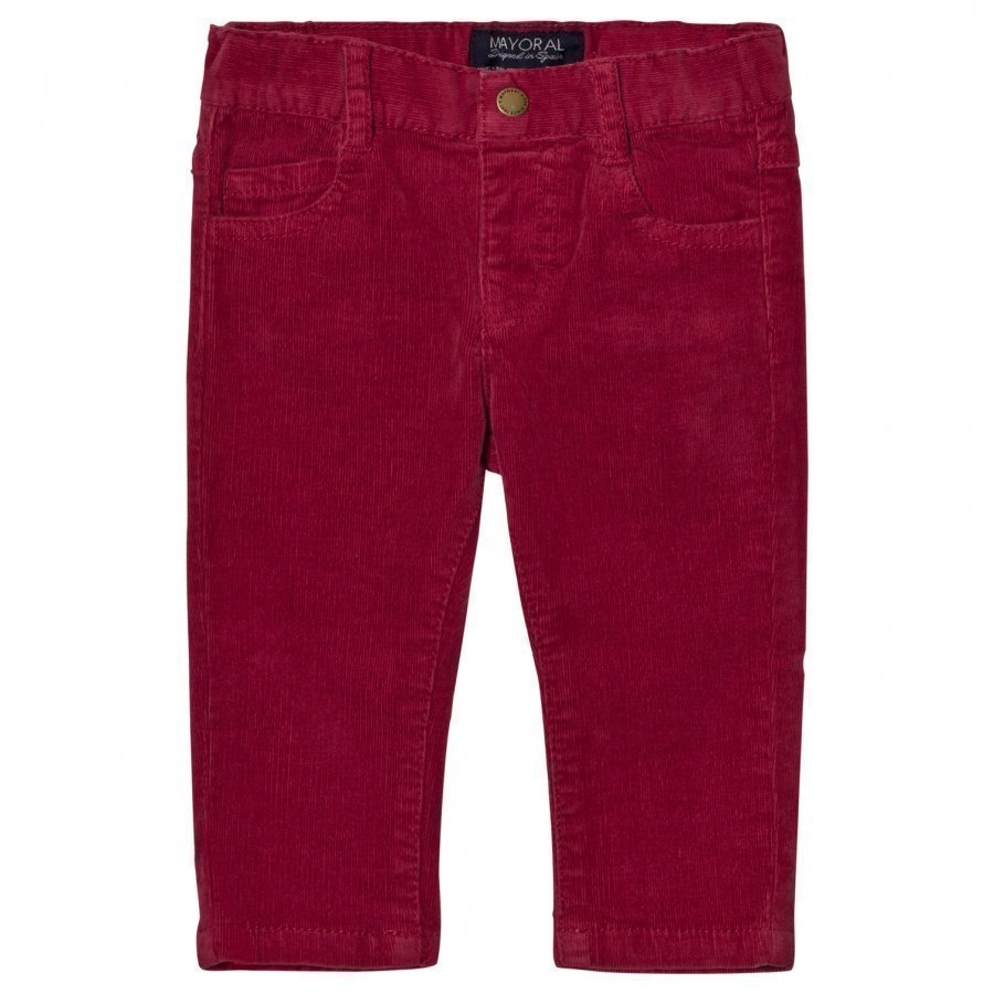 Mayoral Berry Slim Fit Cords Housut