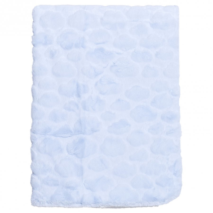 Mayoral Blue Textured Plush Baby Blanket Huopa