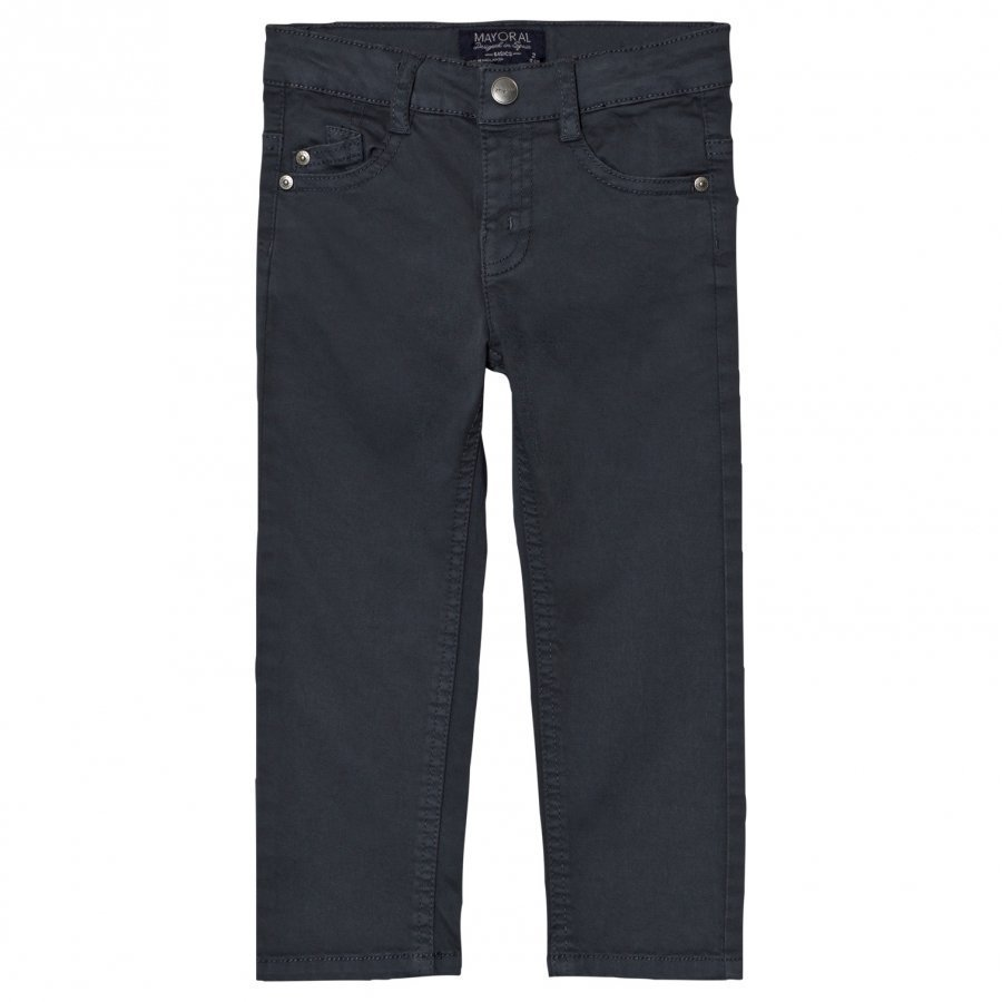 Mayoral Charcoal 5 Pocket Chinos Housut