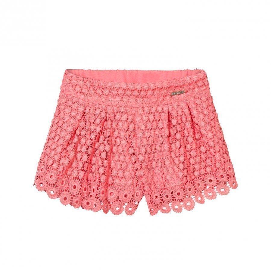 Mayoral Coral Lace Shorts Juhlashortsit