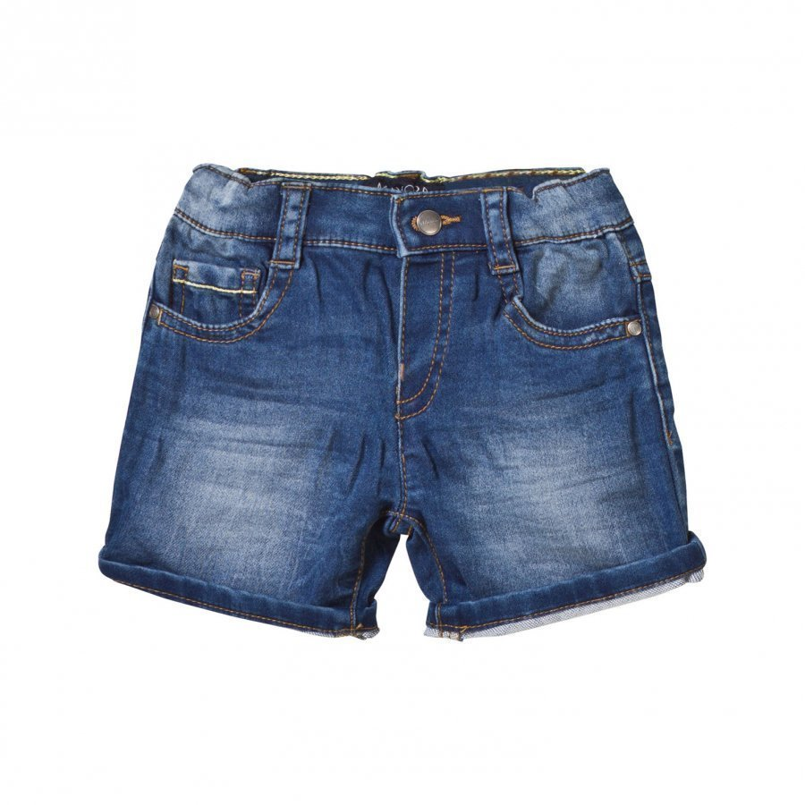 Mayoral Dark Wash Stretch Denim Shorts Farkkushortsit