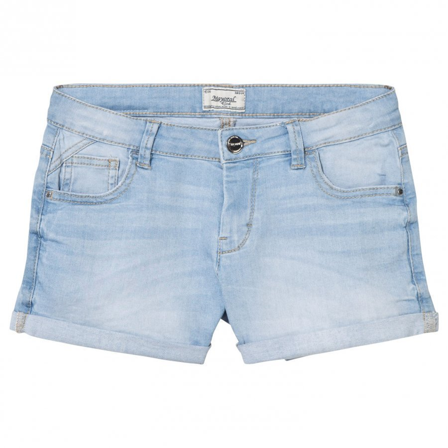 Mayoral Light Wash Denim Shorts Farkkushortsit
