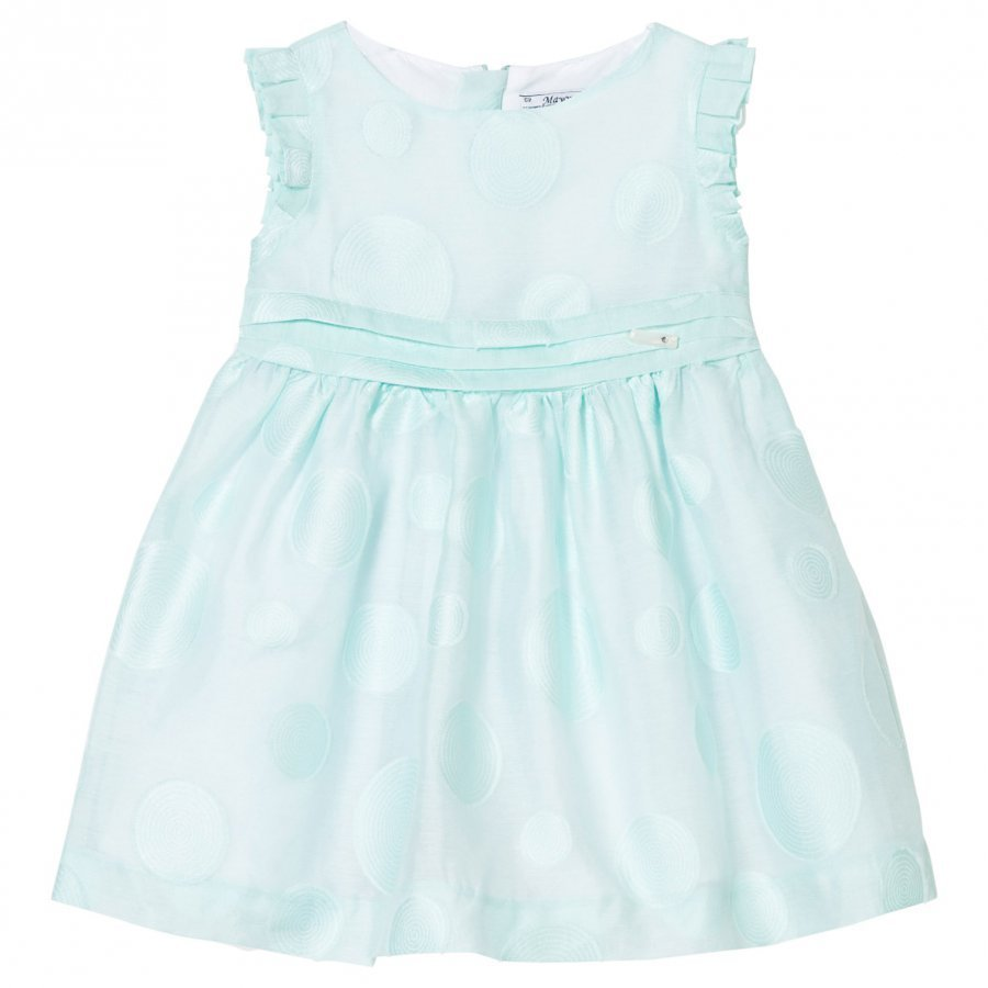 Mayoral Mint Circle Detail Voile Dress Juhlamekko