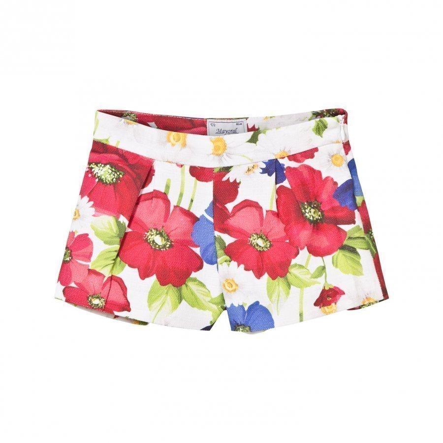 Mayoral Multi Floral Shorts Juhlashortsit
