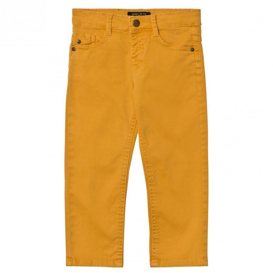 Mayoral Mustard 5 Pocket Chinos Housut