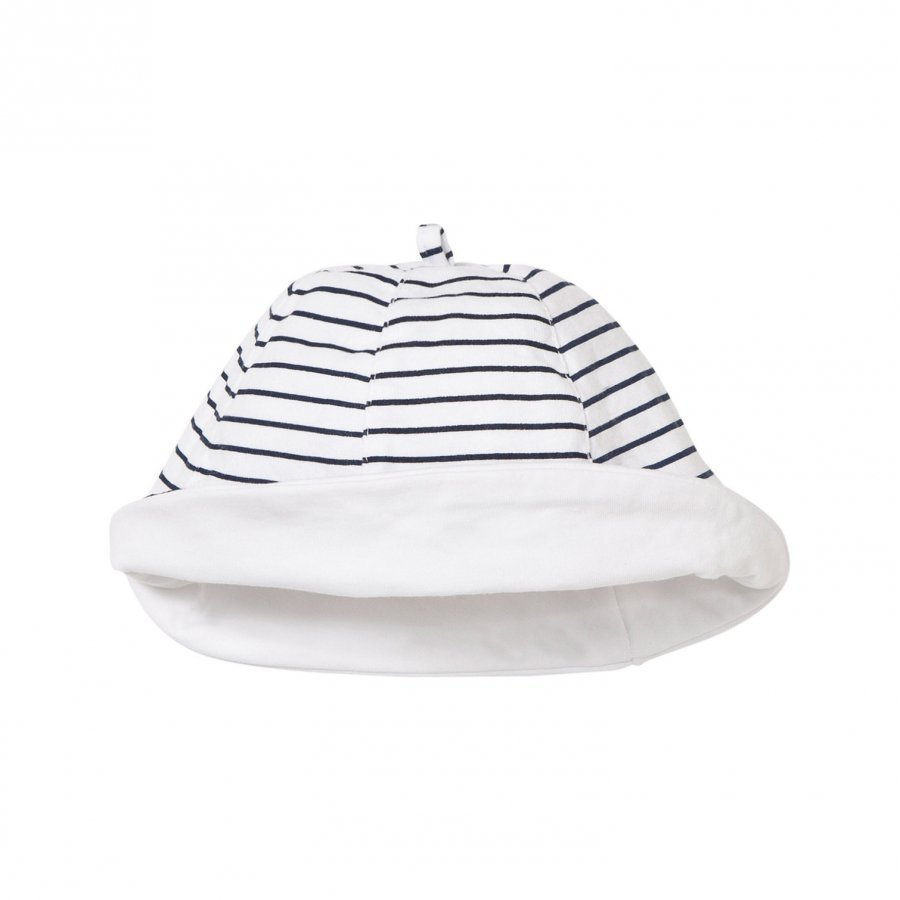Mayoral Navy And White Stripe Reversible Hat Aurinkohattu