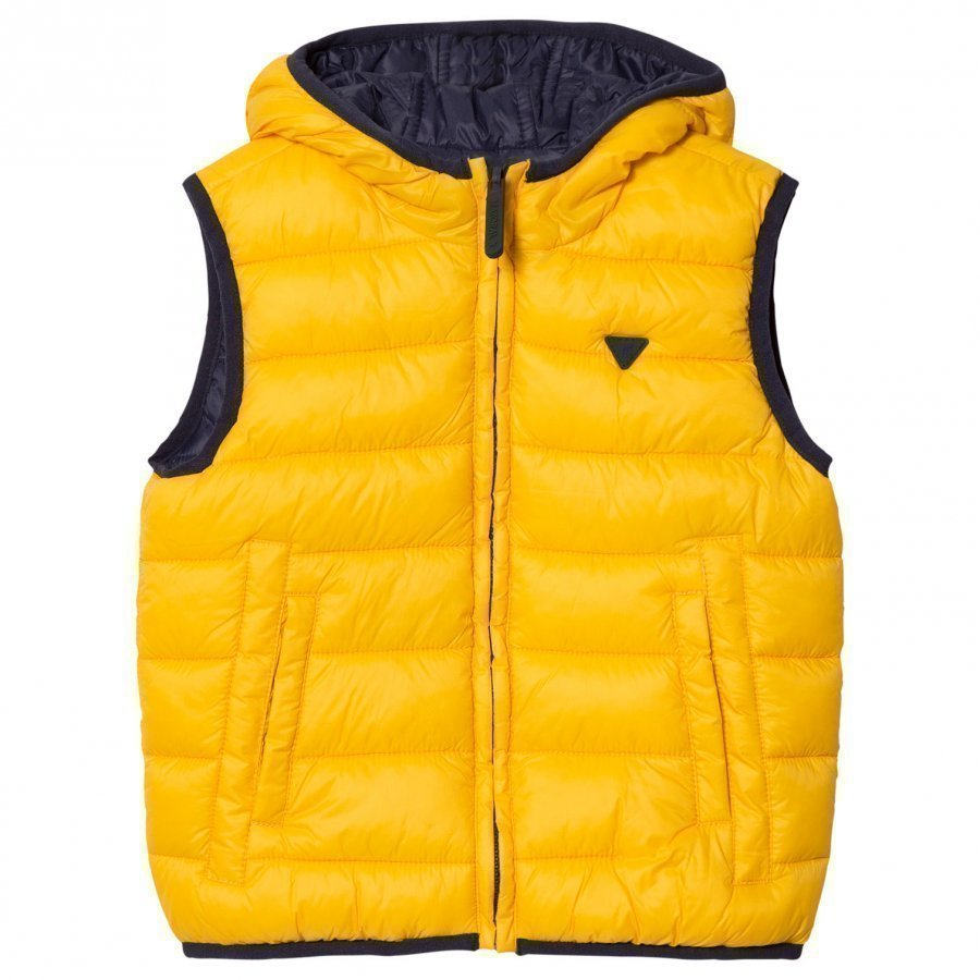 Mayoral Navy And Yellow Reversible Gilet Toppaliivi