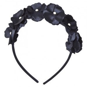 Mayoral Navy Flower And Pearl Headband Hiuspanta