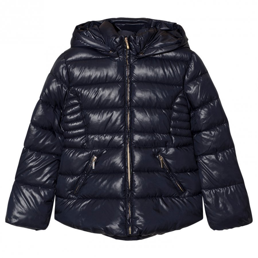 Mayoral Navy Hooded Puffer Jacket Toppatakki