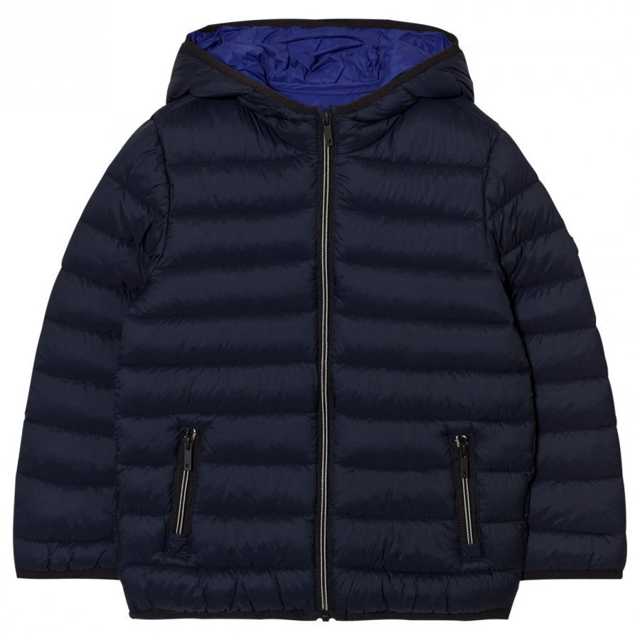 Mayoral Navy Lightweight Puffed Jacket Toppatakki