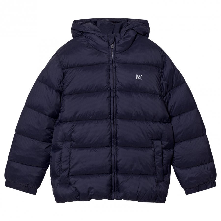 Mayoral Navy Padded Hooded Coat Toppatakki