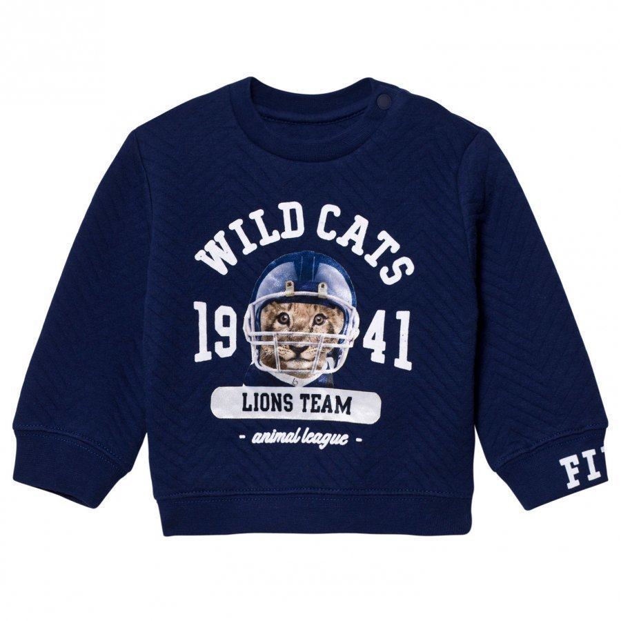 Mayoral Navy Tiger Print Sweater Oloasun Paita