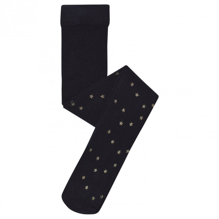 Mayoral Navy Woolen Star Tights Sukkahousut