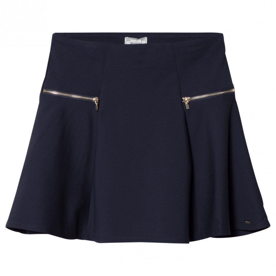 Mayoral Navy Zip Detail Skirt Kellohame
