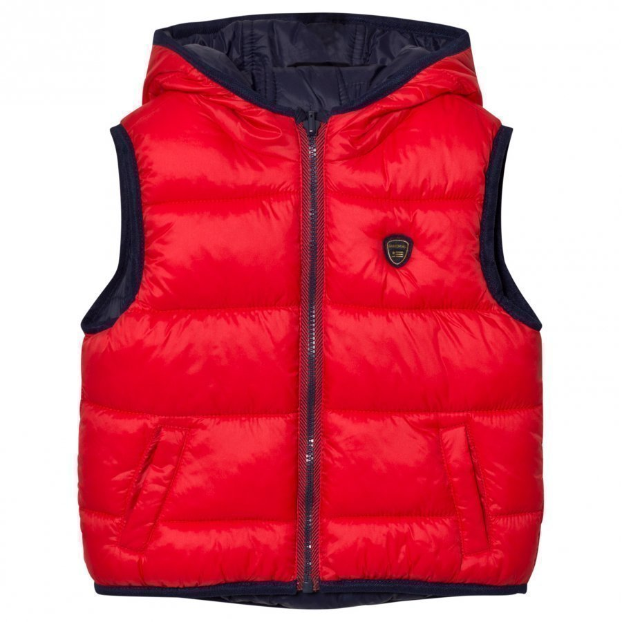 Mayoral Navy/Red Reversible Padded Vest Toppaliivi