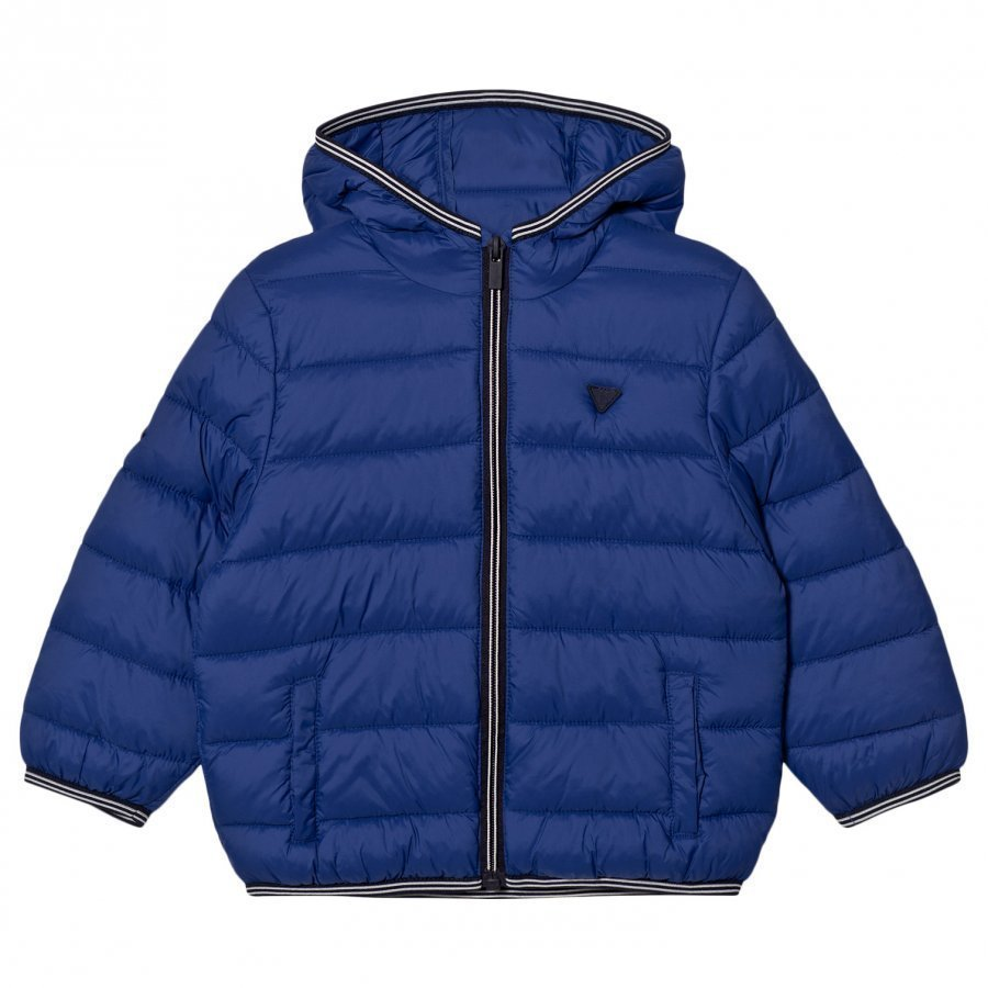 Mayoral Padded Hood Jacket Bright Blue Toppatakki