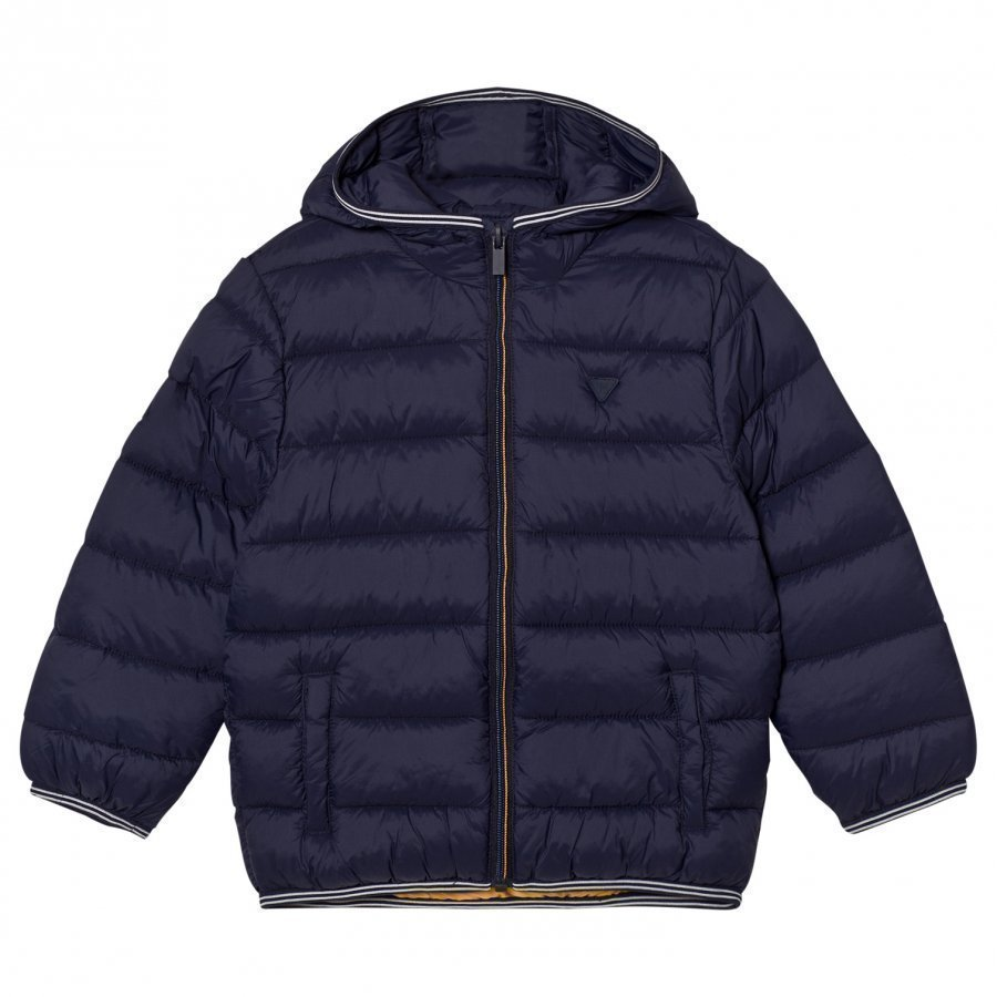 Mayoral Padded Hooded Jacket Navy Toppatakki
