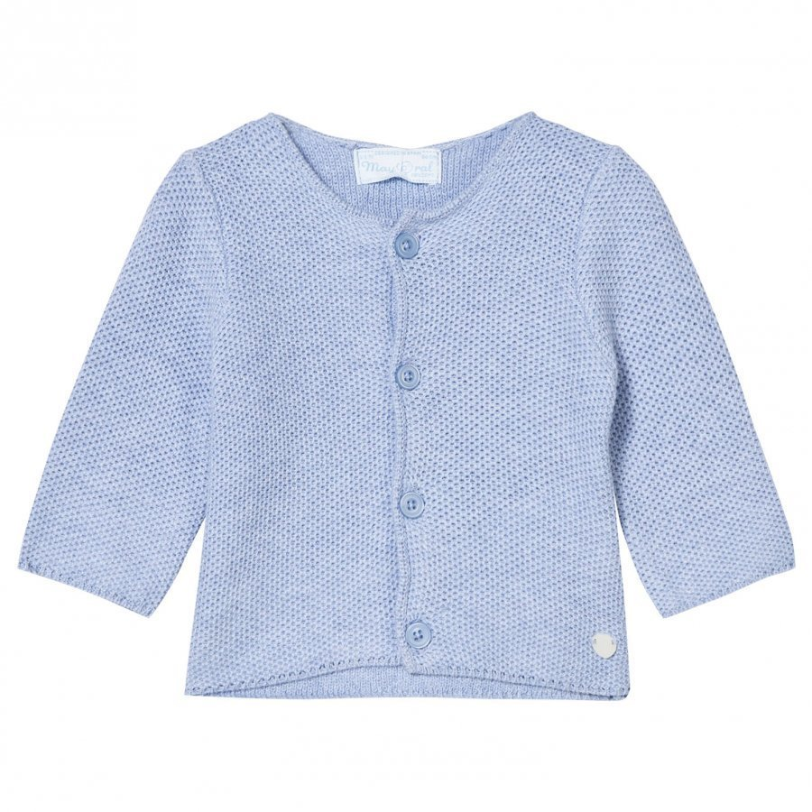 Mayoral Pale Blue Knit Cardigan Neuletakki